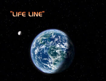 Life Line title card