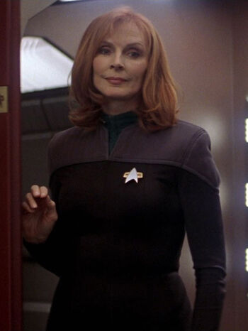 Dr. Beverly Crusher in 2379