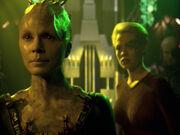 Borg-Königin will Seven zurück ins Kollektiv holen