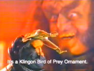 Hallmark Gowron Klingon Bird-of-Prey Commercial