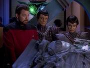 Riker hilft den Romulanern