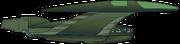 Romulanischer Bird-of-Prey (22. Jh.) Schema
