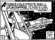 Spock shuttle comic