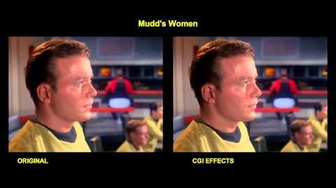 Star Trek - Mudd's Women - visual effects comparison
