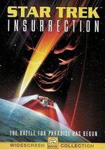 Star Trek Insurrection DVD cover