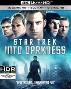 Star Trek Into Darkness 4K UHD US cover
