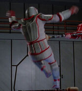 Stunt double Mitchell Ryan, The Icarus Factor