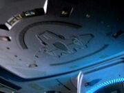 Aero-Wing an der Unterseite der Voyager