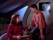 Beverly and Wesley Crusher, 2364