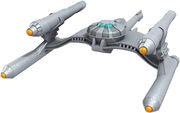 Eaglemoss Gorn Starship
