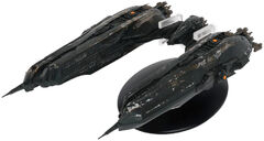 Eaglemoss Klingon Chargh Class