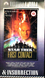 First Contact & Insurrection UK VHS cover