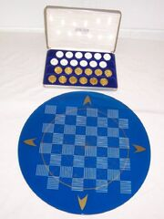 Franklin Mint TOS Checkers board