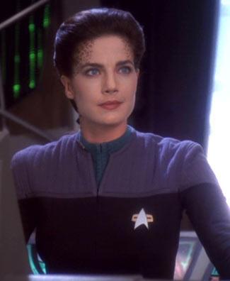 Lt. Commander Jadzia Dax (2374)