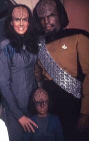 K'Ehleyr, Worf, Alexander
