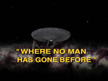Where No Man Has Gone Before title card