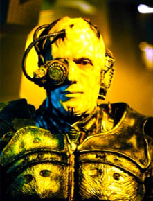 "Avery as a Borg in ""Regeneration"""