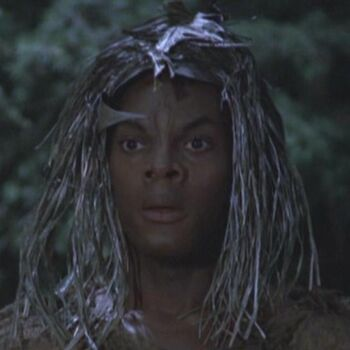 ... as the tribal alien