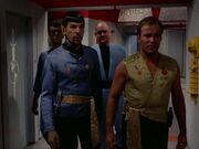 Kirk und Spock im Spiegeluniversum