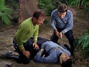 McCoy behandelt Spock