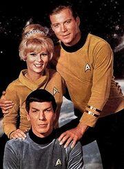 Promofoto Kirk Spock und Rand