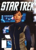Star Trek Magazine US issue 62 PX cover