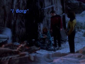 I Borg title card