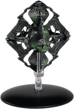 Eaglemoss 109 Borg Queens Vessel