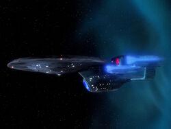 Enterprise-C Tijdelijke scheur