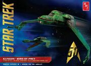 Round2 AMT Model kit AMT949 Klingon Bird of Prey (ST3) 2016