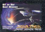Star Trek Deep Space Nine - Series Premiere Card 13