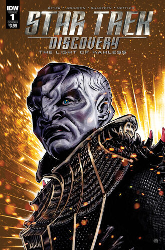 Cover of issue 1 of <i>The Light of Kahless</i>
