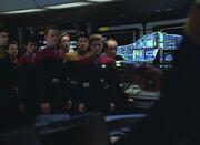 Voyager bridge crew held hostage