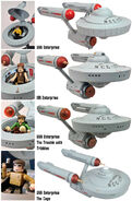 Art Asylum Minimates USS Enterprise