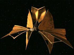 Bajoran lightship (aft)