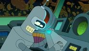 Bender the science officer