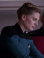 Krankenschwester Enterprise-D 2367 Sternzeit 44390
