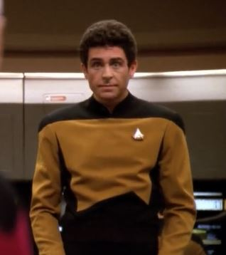 ...as Ensign McDowell