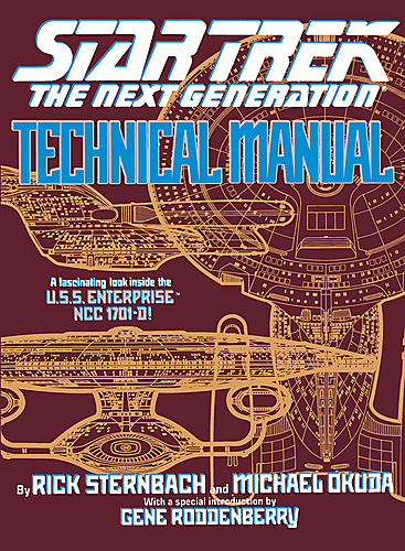 Star Trek The Next Generation Technical Manual (US Zweite Ausgabe)