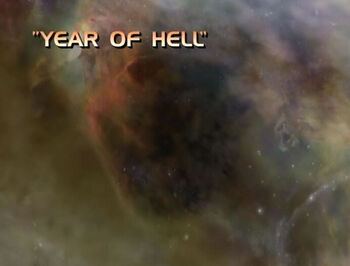Year of Hell title card