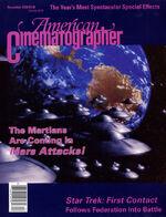 American Cinematographer cover December 1996