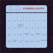Star Trek Enterprise Calendar 2003 Feb bottom
