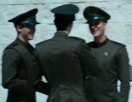 Starfleet brown male dress uniform, 2259