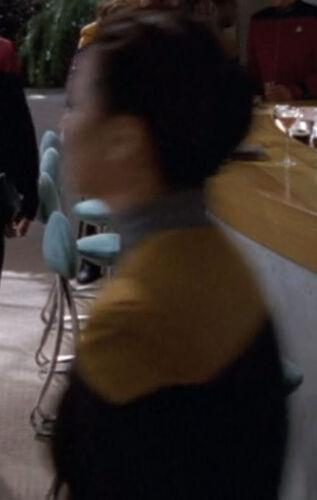 ... as a Starfleet officer