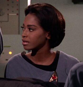 ...as <i>Enterprise</i> nurse