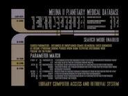 Violations, base de données médicale planètaire de Melina II, original 1