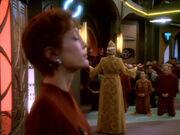 Winn und Bajoraner beten