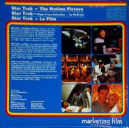 Back cover Star Trek The Motion Picture, Super 8 (International 3-reel edition, part 2)