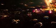 Battle of the Binary Stars Fleets