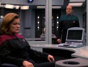 Der Doktor erwartet Janeways Urteil